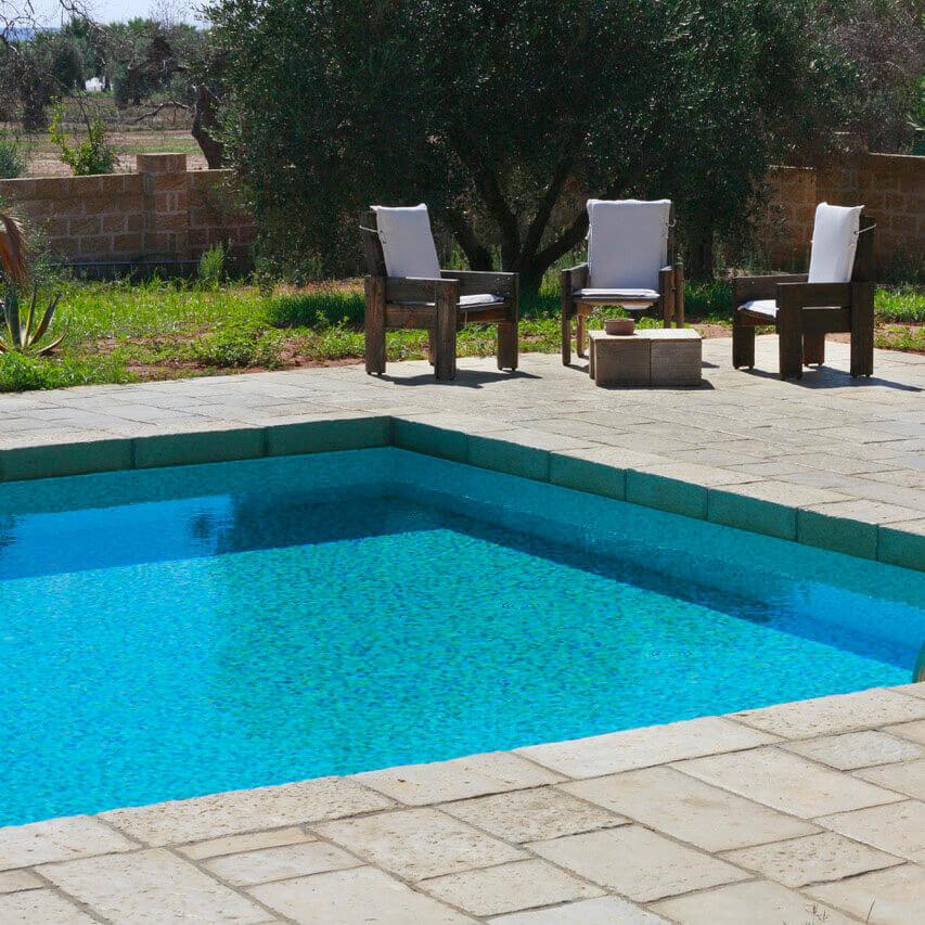 scalino piscina