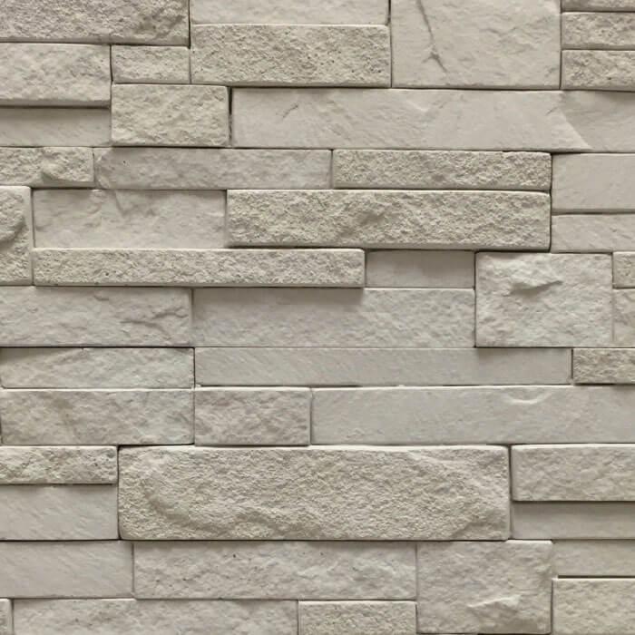 Quarzite rivestimento per pareti interne con mattoncini beige