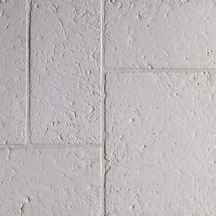 lastra in pietra ricostruita bianca effetto mosaico antico