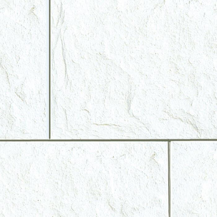 piastrella effetto pietra per esterni colore bianco