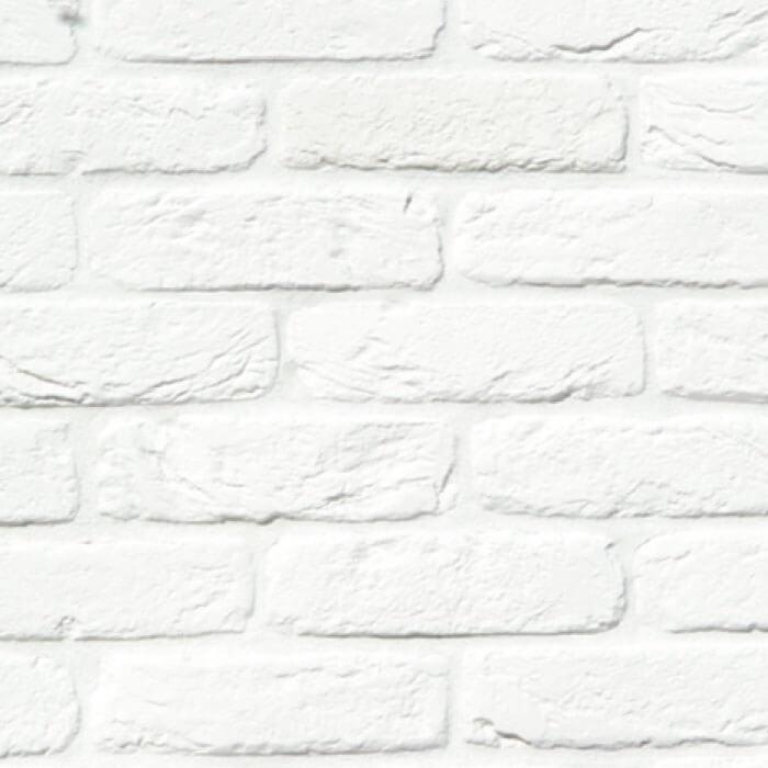 parete con mattoncini bianchi