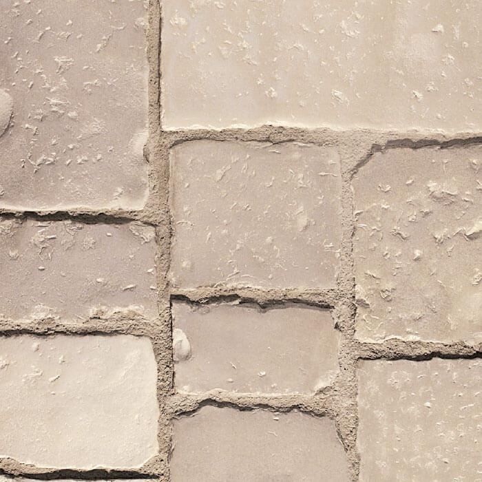 vecchio basolato pavimento pietra ricostruita botticino