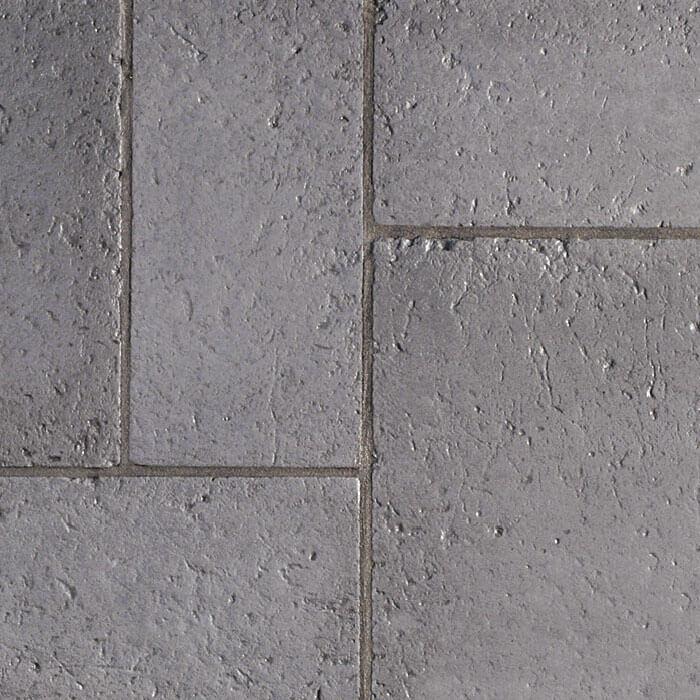 lastra in pietra ricostruita grigio fumo effetto mosaico antico