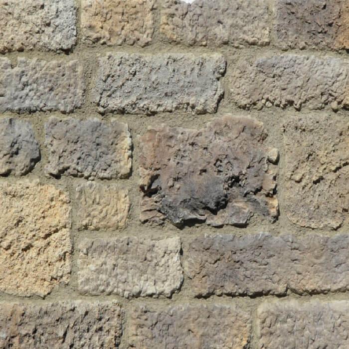 Le vecchie mura rivestimento in pietra per esterni colore grigio