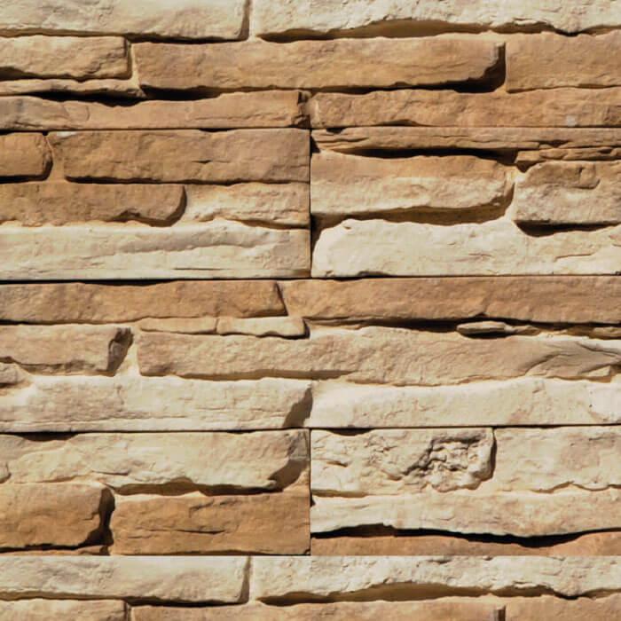 Scaglia rivestimento con scaglie di pietra color ruggine